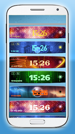 Digital Clock Weather Widget 1.3.2 screenshot 580635