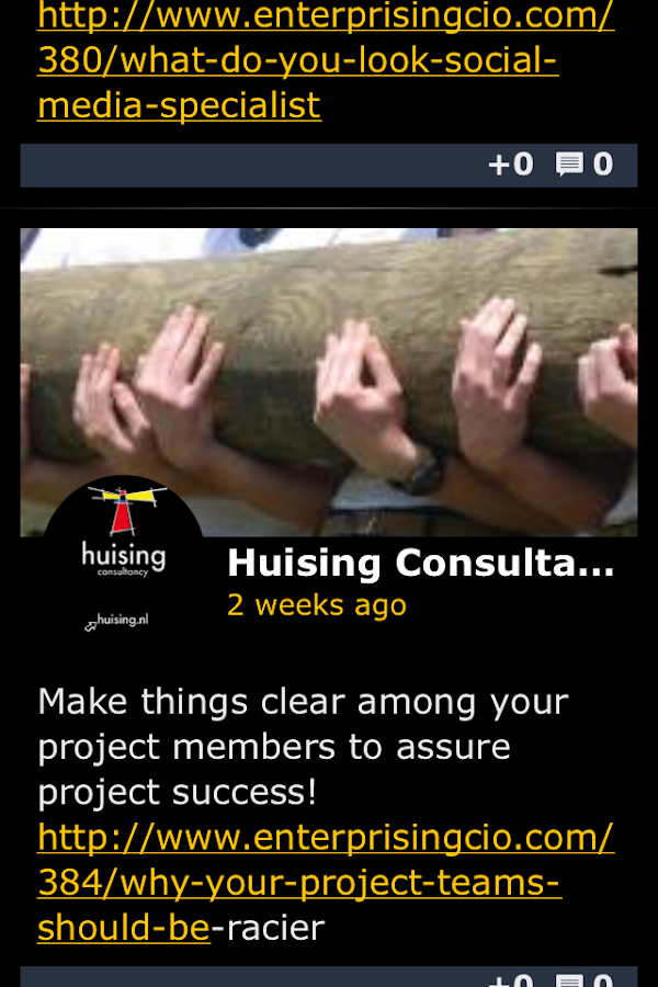 HuisingConsultancy: screenshot