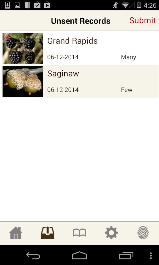 MI-MAST: Wildlife Food Tracker- screenshot