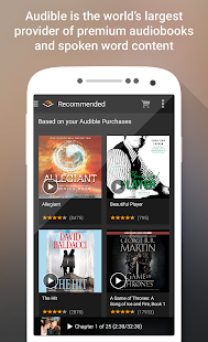 Audible for Android - screenshot thumbnail