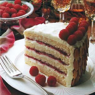 Almond-Scented White Cake.