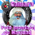 Christmas Photomontage Camera icon