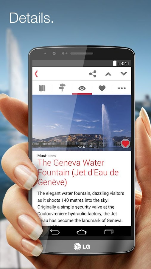 City Guide Genève- screenshot