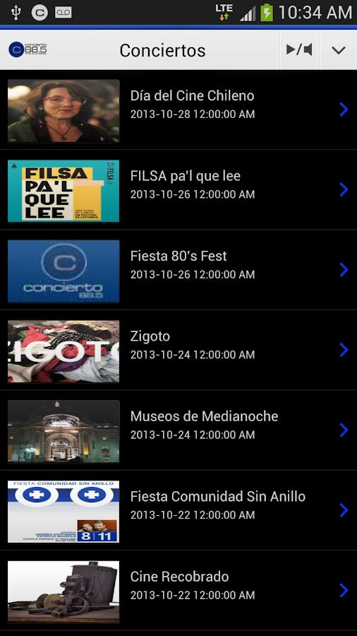 Radio Concierto - Chile - screenshot