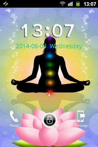 GO鎖屏瑜伽脈輪能量