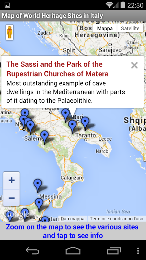 Unesco world heritage italy android apps on google play unesco world heritage italy screenshot gumiabroncs Gallery