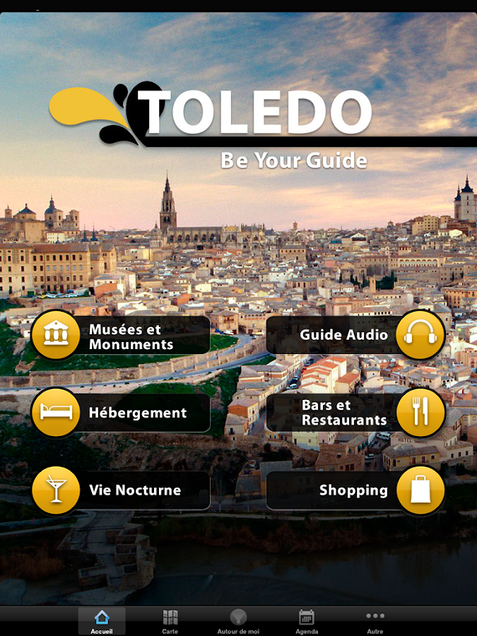 Be Your Guide - Toledo – Capture d'écran