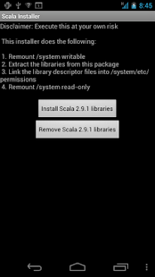 Scala Standard Lib Installer - screenshot thumbnail