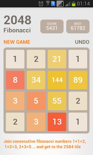 2048 Fibonacci