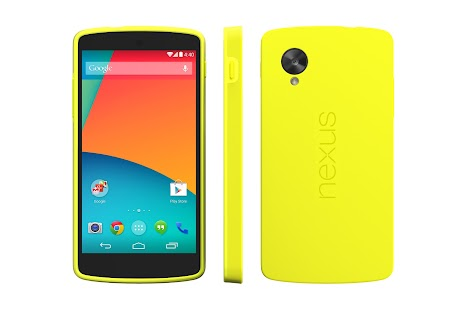 Nexus 5 Bumper Case (Bright Yellow) - screenshot thumbnail