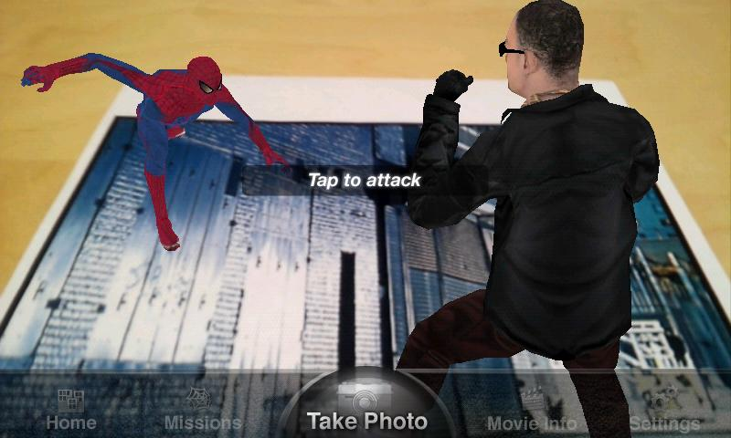 The Amazing Spider-Man AR - screenshot