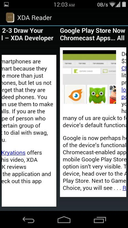 XDA Reader - screenshot
