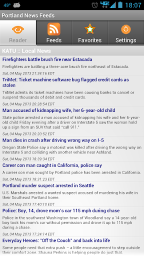 Portland News Feeds