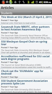 SSUMobile- screenshot thumbnail