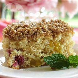 Mango Raspberry Buttermilk Cake Recipe