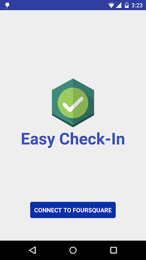 Easy Check-In for Foursquare