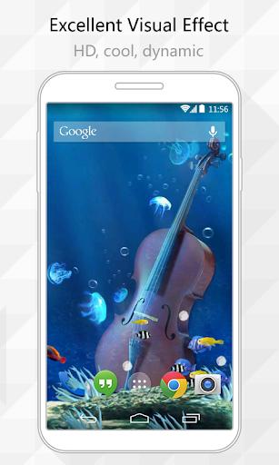 Violin Live Wallpaper