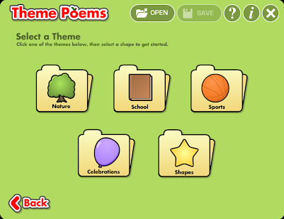Theme Poems - screenshot thumbnail