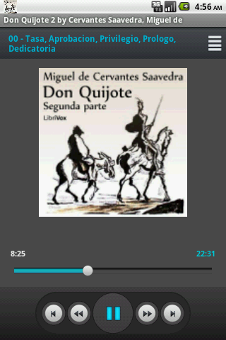 Don Quijote V.2 by Saavedra