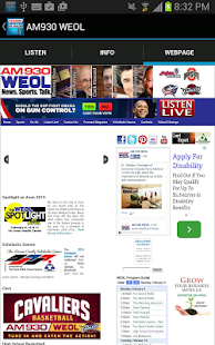 AM930 WEOL- screenshot thumbnail