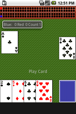 Cribbage (ad supported)- screenshot