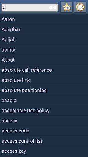 English Wolof Dictionary +