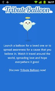 Tribute Balloon- screenshot thumbnail