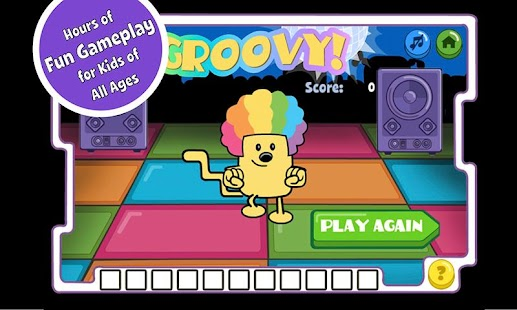 Disco Dancin' Wubbzy- screenshot thumbnail