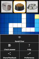 Screenshot of PICADO Kids Picture Crossword