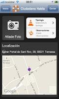 Screenshot of Ciudadano Habla