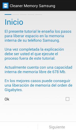 Cleaner Memory Samsung