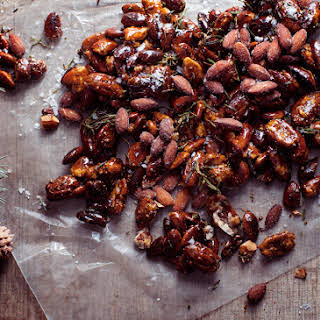 Candied Nuts with Smoked Almonds.