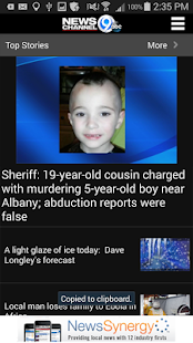 NewsChannel 9 WSYR Syracuse - screenshot thumbnail