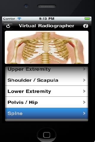 Virtual Radiographer - screenshot
