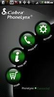 Screenshot of Cobra PhoneLynx™