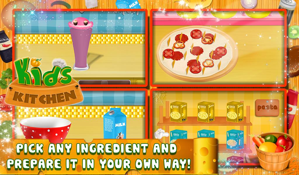 Anak Dapur Memasak Permainan Screenshot