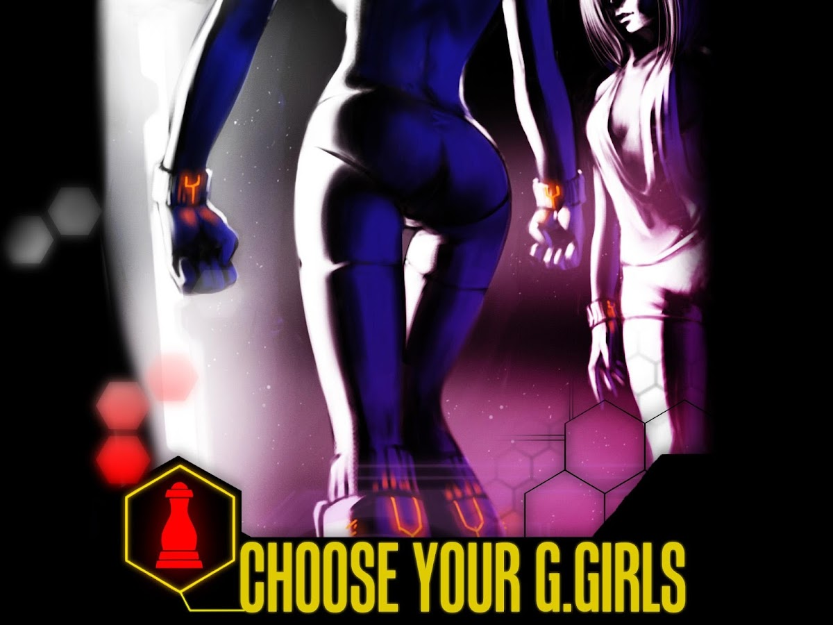 Battle G. Girls – Cards game - screenshot