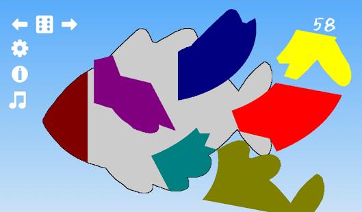 Preschool Kids Shape Puzzle - náhled