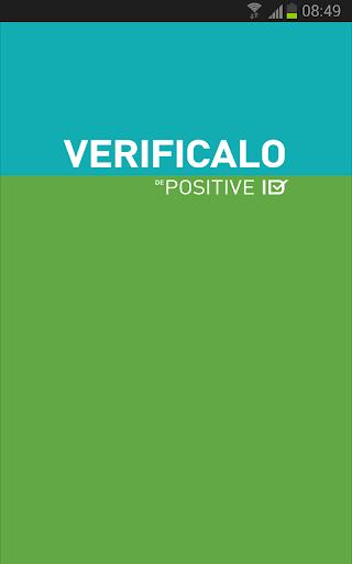 Verificalo de Positive ID