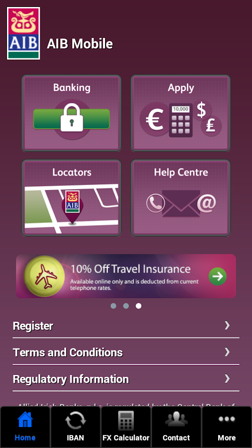 AIB Mobile - screenshot