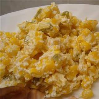 Jalapeno Corn Casserole.