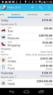 Travel Money - Group Expenses - screenshot thumbnail