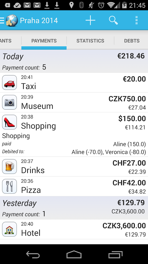 Travel Money- screenshot