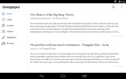 Instapaper Screenshot 2