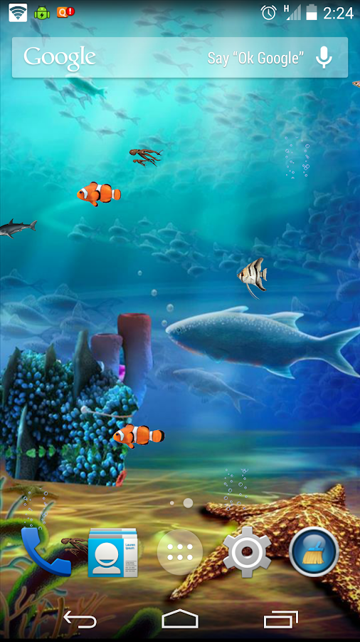 Aqua Life Free Live Wallpaper - screenshot