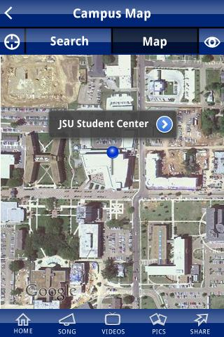 Jackson State University- screenshot