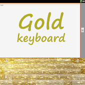 Gold Shine GO Keyboard