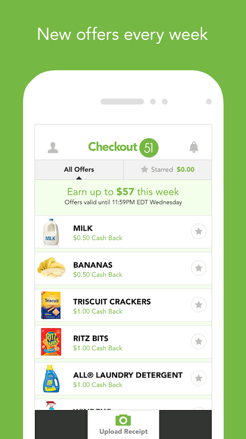 Checkout 51 - Grocery Coupons - screenshot