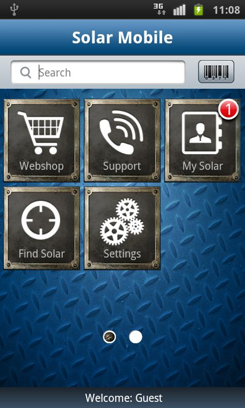 Solar Mobile - screenshot