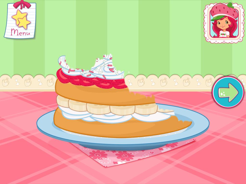Strawberry Shortcake Bake A Cake Game